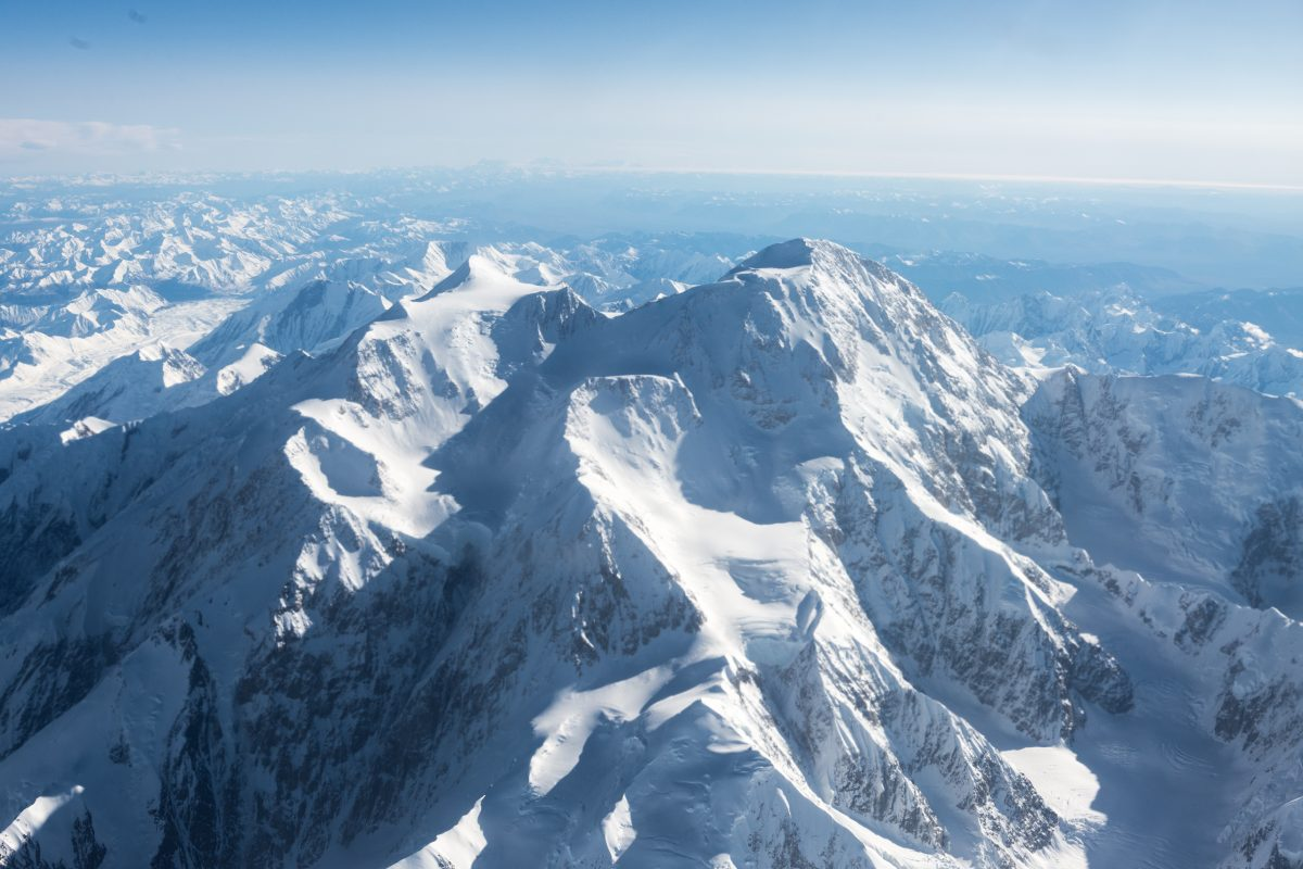 The Alaska Range seen from a commercial flight | © Christian Martischius