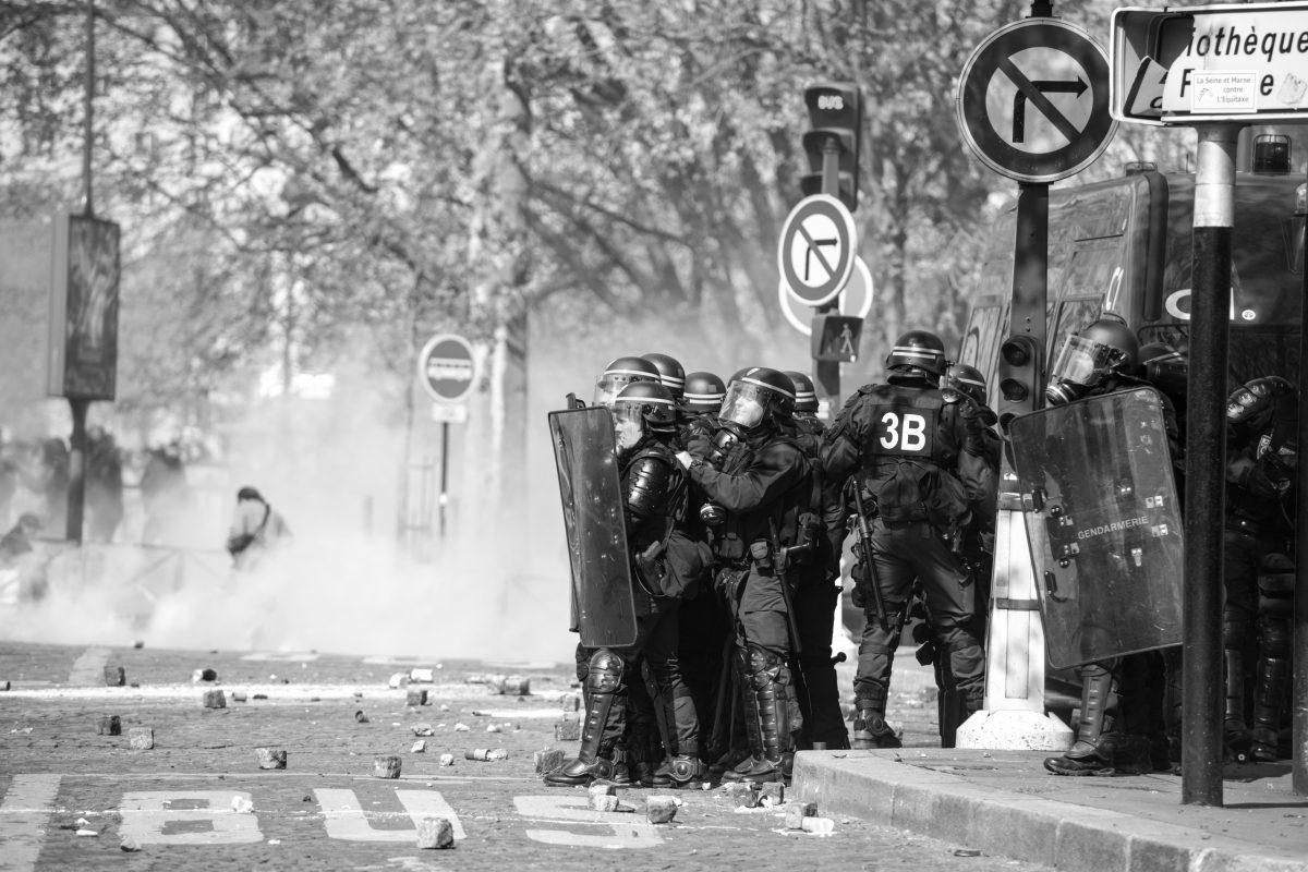 French riot police | © Christian Martischius
