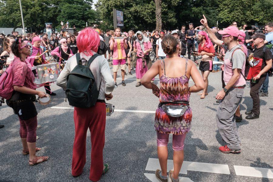 Samba-Protest