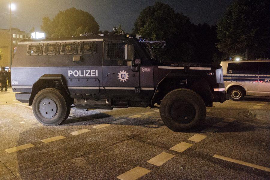 """Special police forces' car """"Survivor"""""""