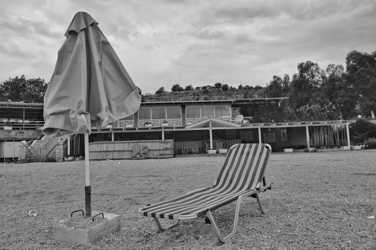 The last sunlounger